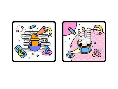 style illustration icon design