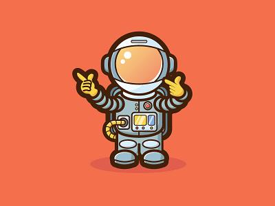 Spaceman illustration design