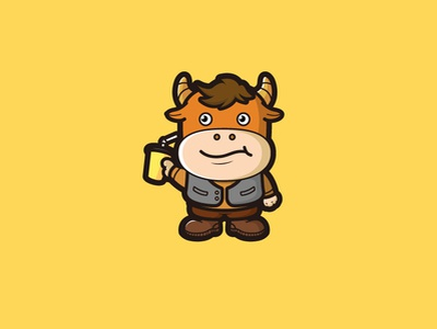 Cattle illustration design