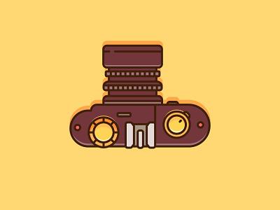 Camera icon illustration design