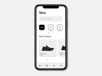 Classical Clothing Product Search UI UX type graphics page illustrator xd photoshop mockup mobile ux ui product search dribbble branding application design app serif classic adobe