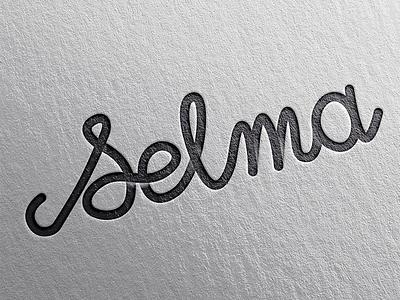 Selma lettering