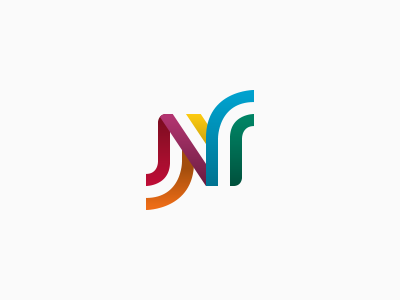 NMC colours stripes logo