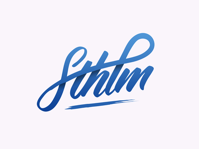Sthlm typography handlettering