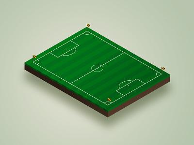 Iso Soccer soccer isometric