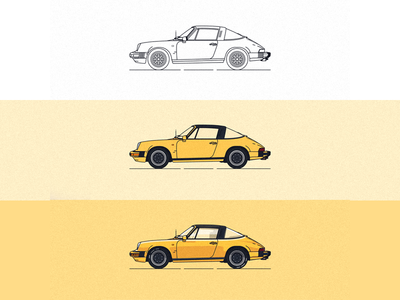 the progress of Porsche 911 SC Targa '82