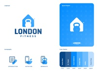 London Fitness - Brand Identity Design