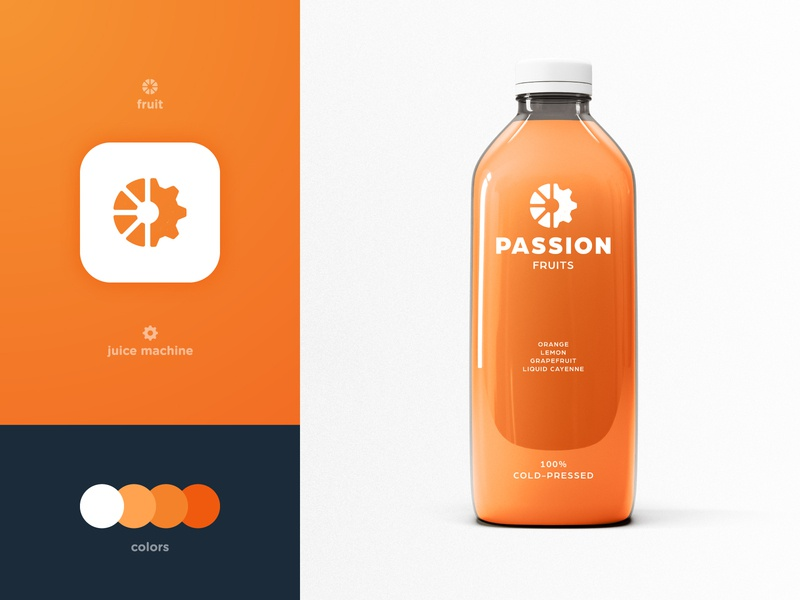 Passion Fruits - Brand Identity Design