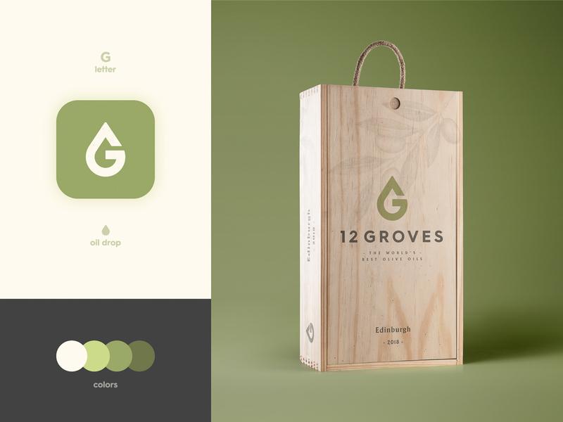 12 Groves - Brand identity Design