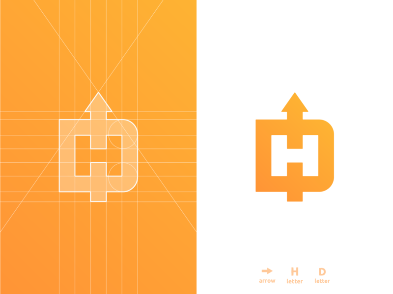 DH Arrow - Logo Grid