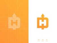 DH Arrow - Logo Grid