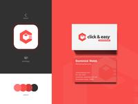 Click & Easy - Brand Identity Design