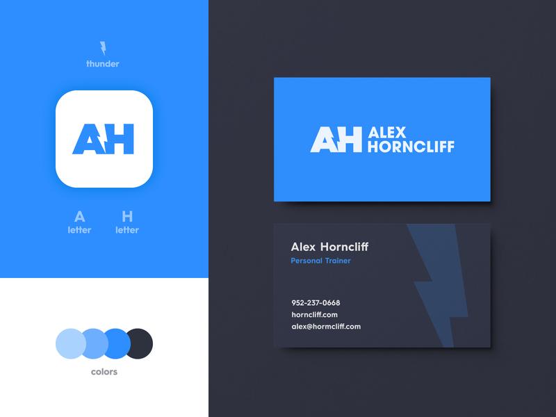 Alex Horncliff - Business Card Design