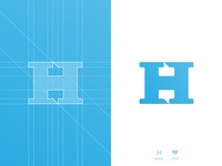 H Chat Boxes - Logo Design