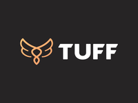 Tuff - Logo Animation gold outro motion design logotype designer logo intro gif branding brand wings animation after effects