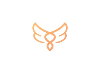 Tuff - Logomark Animation wings outro motion designer logomark logo intro gold gif branding brand animation after effects