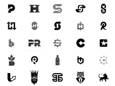 Unused negative space logo design collection n o p q r s t u v w x y z a b c d e f g h i j k l m for sale available unused logo logos logo design icon app icons clever modern abstract minimalistic minimalist logomark letter mark logotype monogram negative space