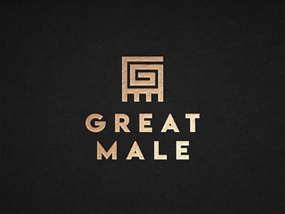 Great Male - Logo Design