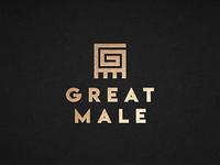 Great Male - Logo Design