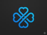 Clover Hearts - Logo Concept