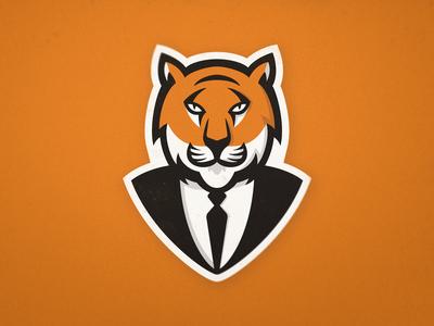 Tiger Suit - Logo Concept