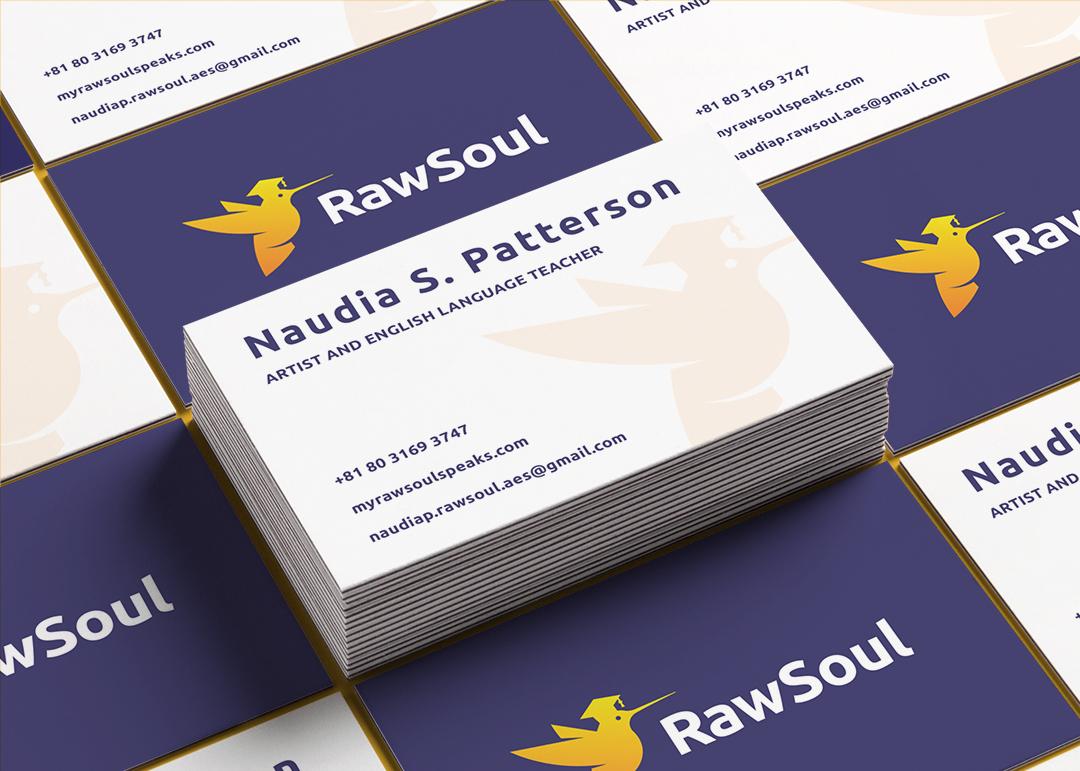 Rawsoul business card