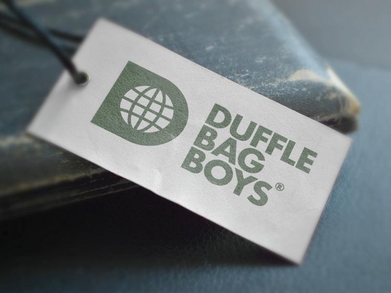 Duffle Bag Boys - Logotype Design identity card logotype designer logotypedesign smart mark clever design label mockup green branding futura bold world symbol globe icon negative space logo d letter