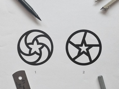 Marvellous Photo Booth - Logo Concepts