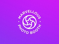 Marvellous Photo Booth - Logo Design