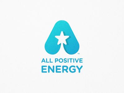 All Positive Energy - Logotype Design