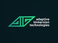 Adaptive Immersion Technologies - Logotype Design