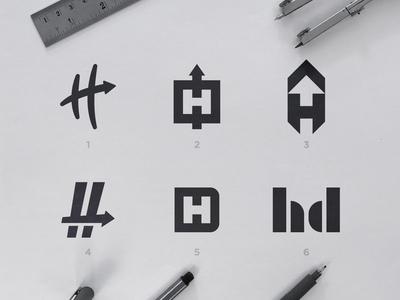 Hashdash - Logo Concepts