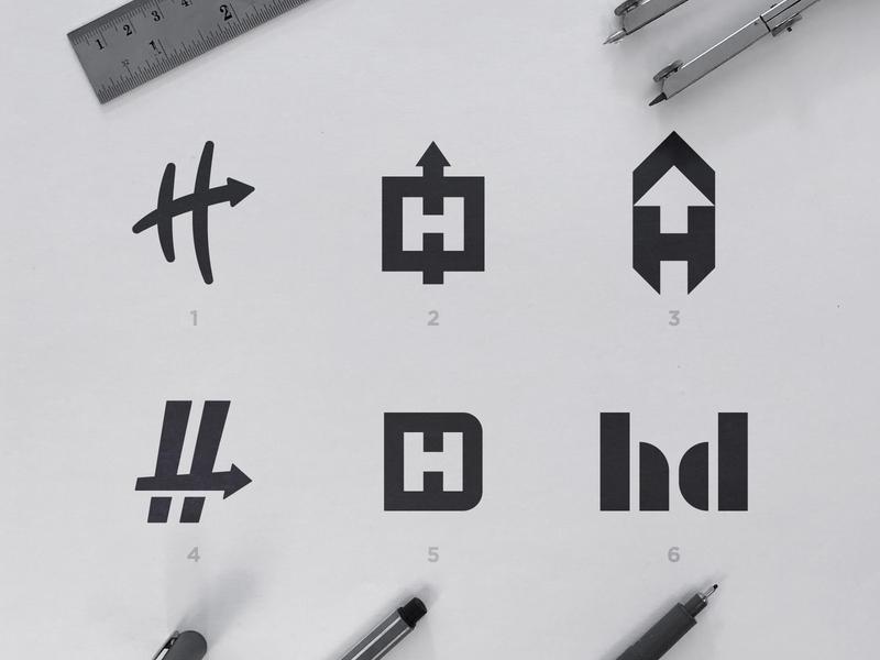 Hashdash - Logo Concepts cannabis branding icons design marks symbols blackandwhite logomarks logosai logos 2d arrow logo lettermarkexploration monograms h letter