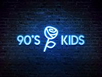 90's Kids - Logotype Design
