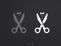 Gents Barber Club - Logo Grid