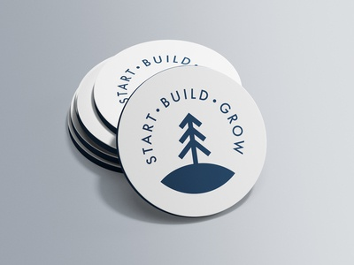 Start Build Grow - Business Cards