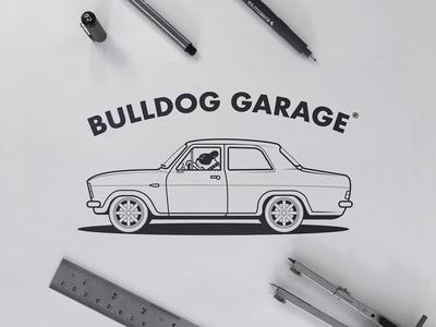 Bulldog Garage - Logo Concept