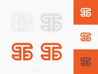 TS Monogram - Logo Grid