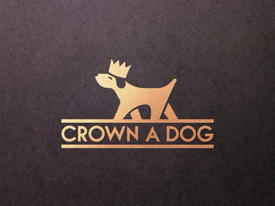 Crown a Dog - Logotype Design