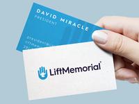 Lift memorial card