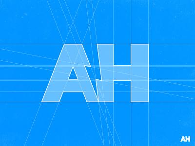 Alex Horncliff - Logo Grid logo illustration design typography brand identity negative space logotype designer smart mark logomark negativespace thunder thunderbolt voltage volt typogaphy negative space logo lettermark identity designer branding brand