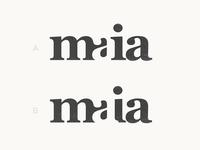 Maia - Logotype Concepts