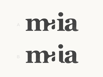 Maia - Logotype Concepts logotypes wordmarks lettering artist type art portugal logotype design custom type negative space logo branding typography for sale unused buy