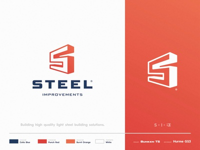 Steel Improvements - Brand Identity
