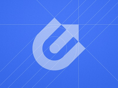 Ecom Uprise - Logo Grid arrows mark icon symbol growth hacking e-commerce design typography e letter arrow logo lettermark identity designer branding brand