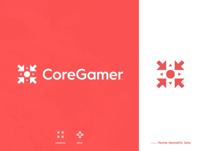 Core Gamer - Logotype Design
