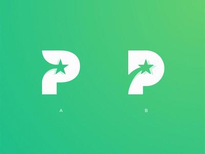 P Star Logo 💫