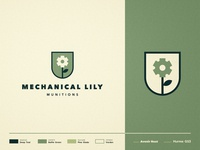 Mechanical Lily Munitions - Branding ⚙️