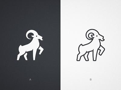 Avanti - Logomark Design 🐐 animals illustrated rams identity designer ibex goats goat logo bucks antlers branding brand animal mascot