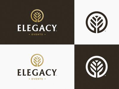 Elegacy Events - Logotype Design
